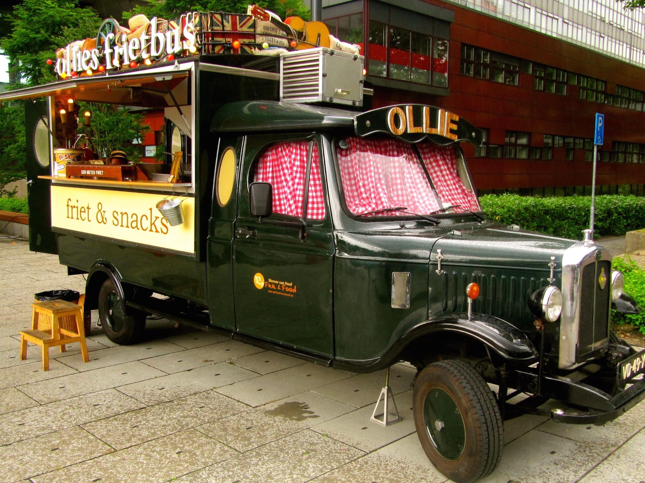 food truck patat
