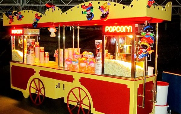 festival beleving popcorn