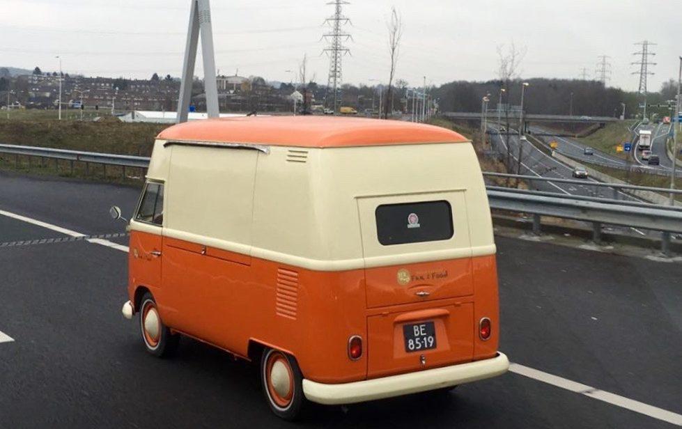 rijdende food truck
