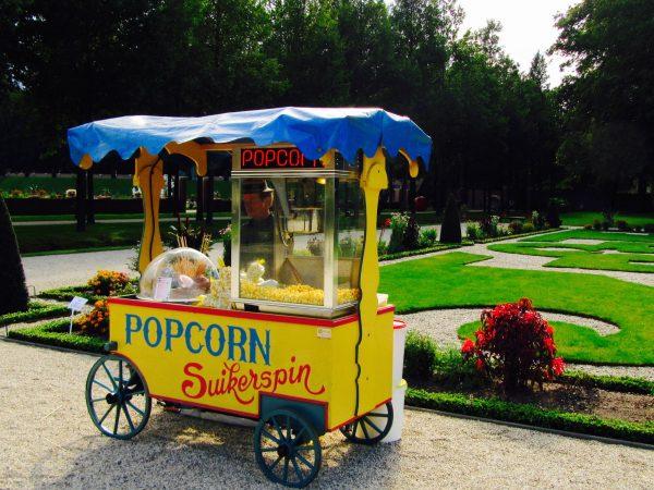 popcorn suikerspin feest