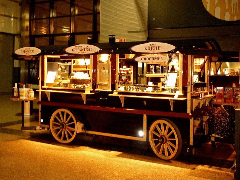 koffiekar bedrijfsfeest