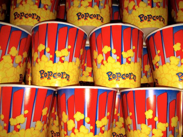 popcorn bedrijfsfeest