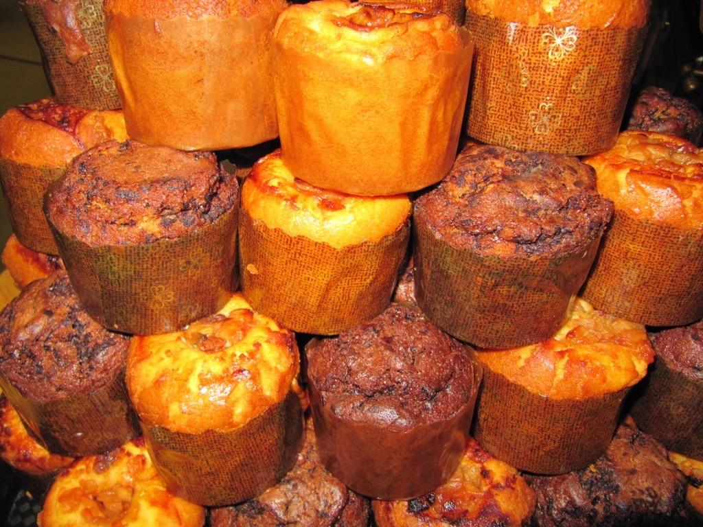 appel en choco muffins